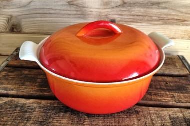 The Orange Casserole Pot